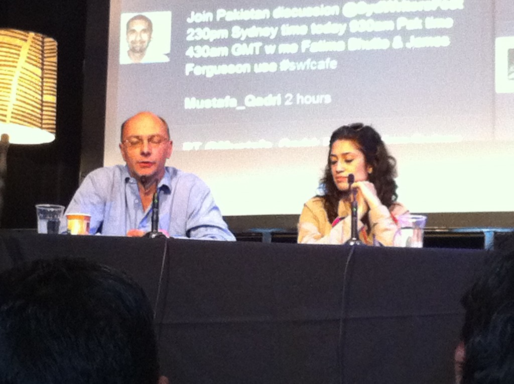 Fatima Bhutto/ James Fergusson SWF2011